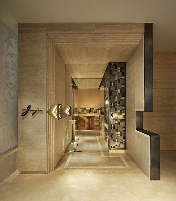 SUPER COOL ENTRANCE-The St. Regis Bangkok—Jojo Restaurant | Flickr  #walldesign #restaurant #design #interiors