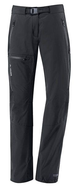 Pantalones de montaña Vaude BADILE PANTS SHORT II BLACK WOMAN