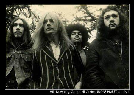 Judas Priest en 1972.