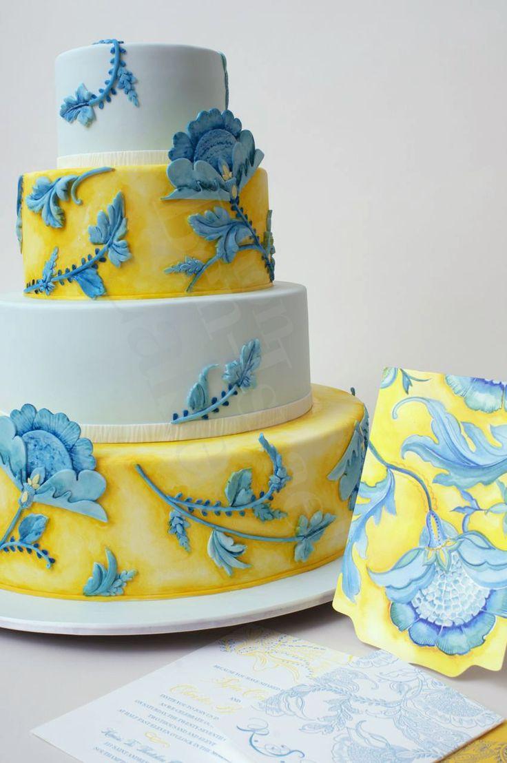 32 best Yellow & Blue images on Pinterest | Wedding stuff, Dream ...