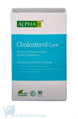 Cholesterol Care - Alpha  -90 Capsules | Shop New Zealand NZ$100