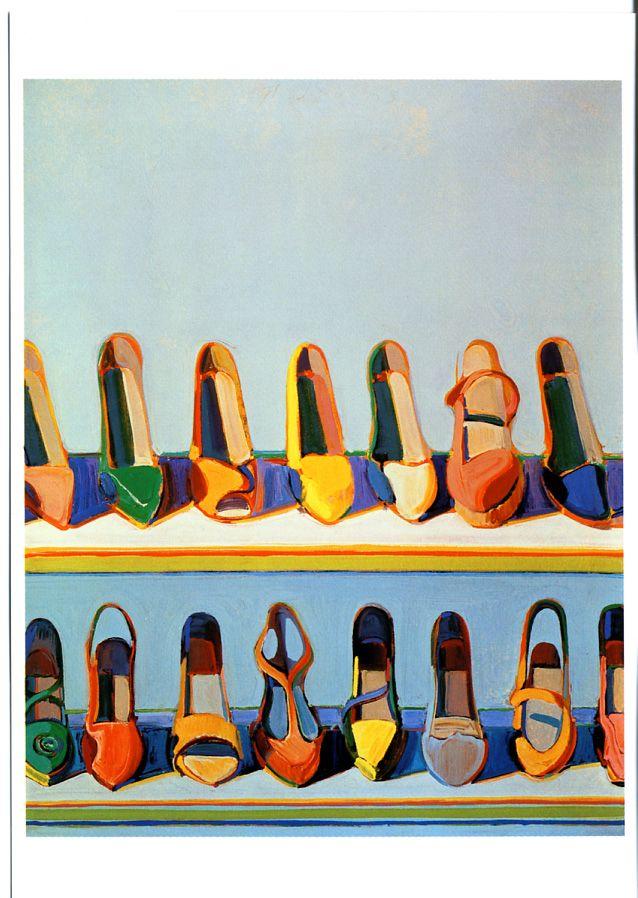 Wayne Thiebaud- shoes