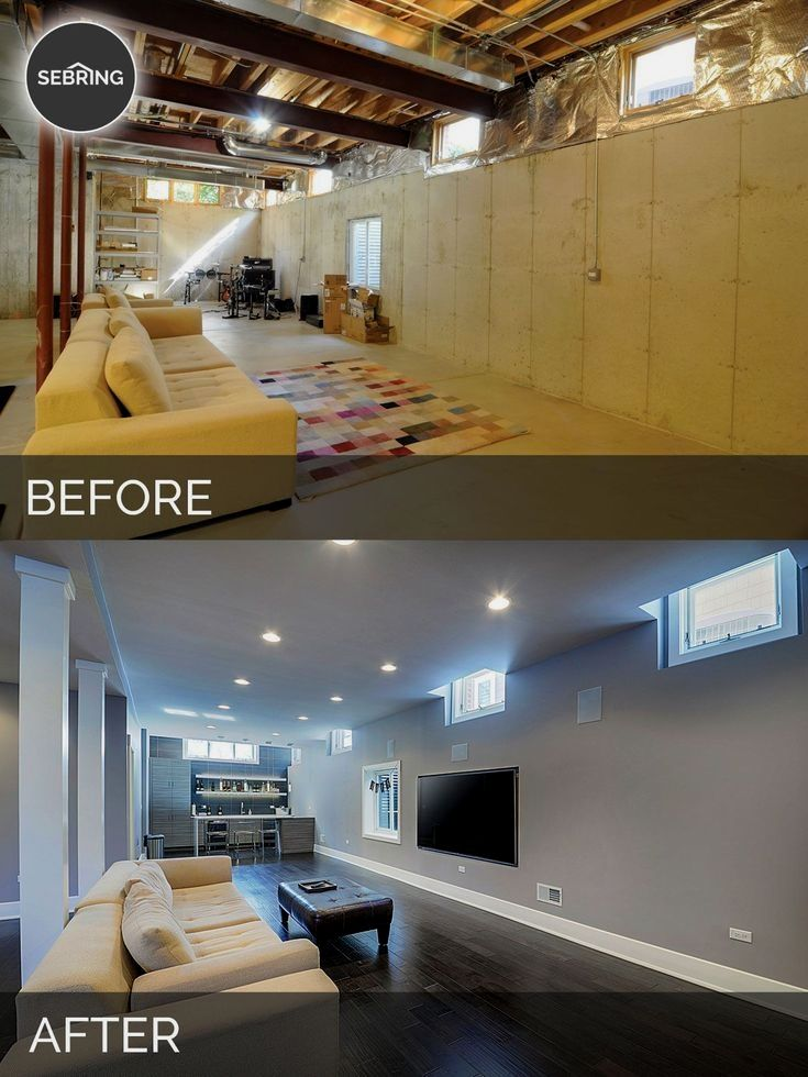 Sidd Nisha S Basement Before After Pictures In 2020 Home