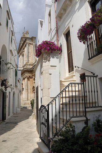 Locorotondo, Provincia di Bari, Puglia - Italy. Olney and I love this sweet little hill town.