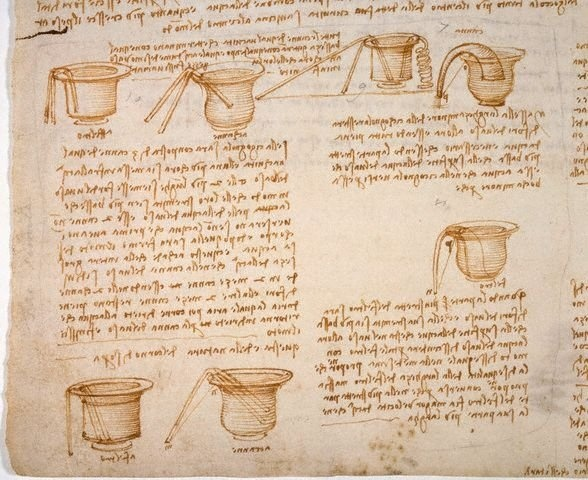Codex Leicester by Leonardo da Vinci—thought to be the worlds most expensive book.