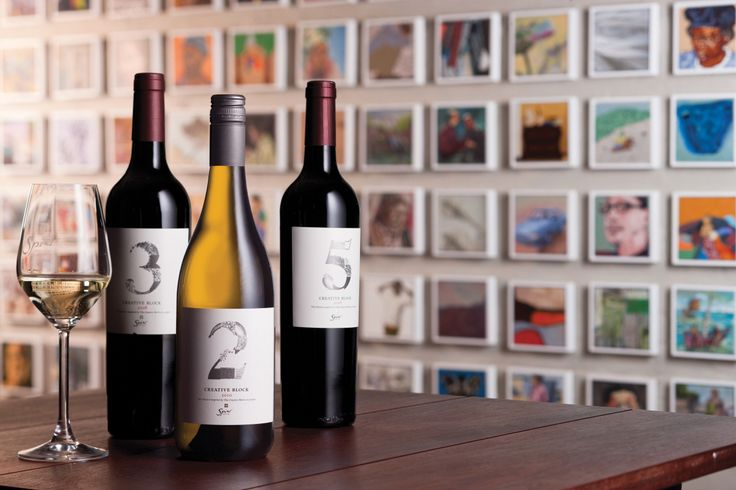 The Creative Block range is inspired by a Spier Arts Academy project that combines artworks from different artists to create something new. Similarly, our winemaking team makes intriguing blends from grapes from various vineyard blocks.     The result: exciting combinations and a wine far greater than the sum of its parts. The number on the bottle refers to the number of varietals used to create each bottle of wine.