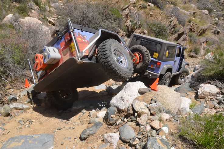 Cheap Truck Challenge Jeep Trailing Trailer