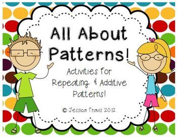 All About Patterns {Repeating and Additive Pattern Activities}