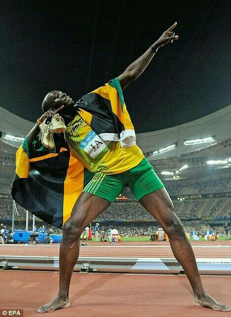 Usain Bolt, probably the best athlete in the 21st century