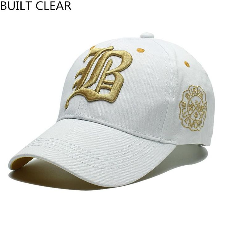 (BUILT CLEAR) brand leisure embroidery hat snapback men and women fashion sports sunscreen sun hat wholesale baseball cap