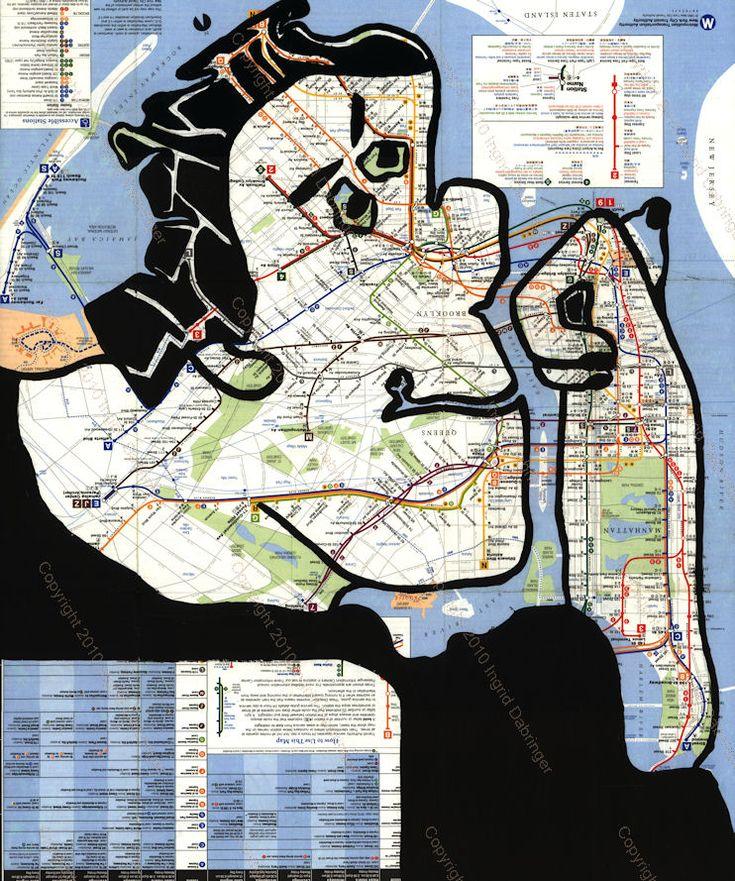 Ingrid Dabringer New York City Subway 2010