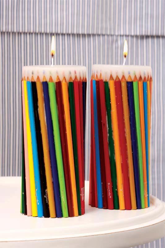 velas de lápis