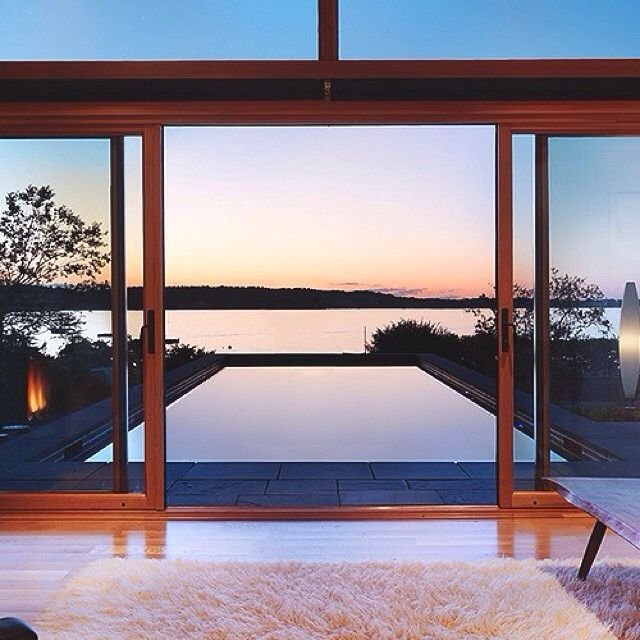 Not a bad view to have in your backyard. What do you guys think? #view #backyard #house #home #luxury