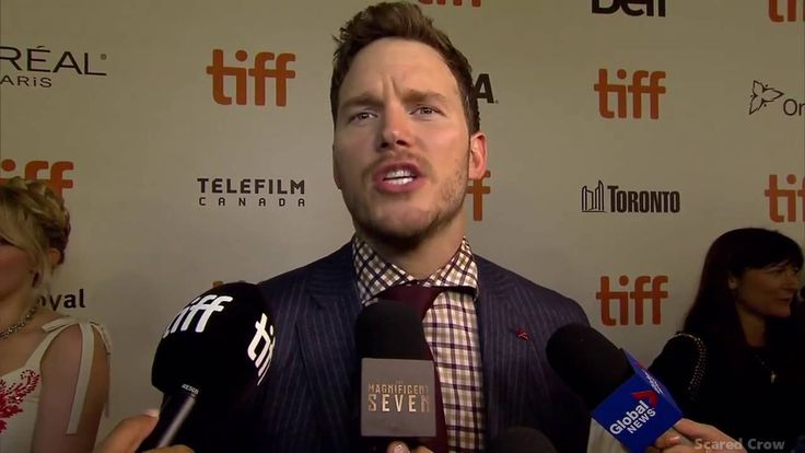 Chris Pratt Interview from Toronto Internation Film Festival for The Magnificient Seven