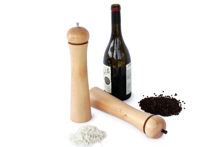 Orb Salt & Pepper Mills Large | Australian Woodwork | Australian Woodwork
