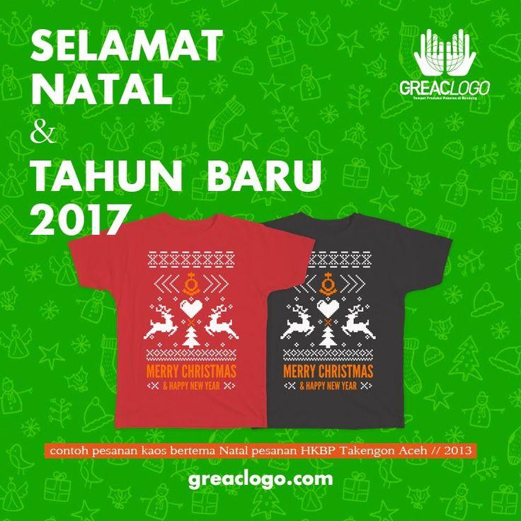 Segenap Keluarga Besar GreacLogo mengucapkan Selamat Merayakan Natal 2016 & Tahun Baru 2017.         Terima kasih untuk para costumer...