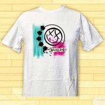 #Blink #182 #Rock #Band #Logo #T-Shirt #comfortable #look #stylish #smile #new #funny #