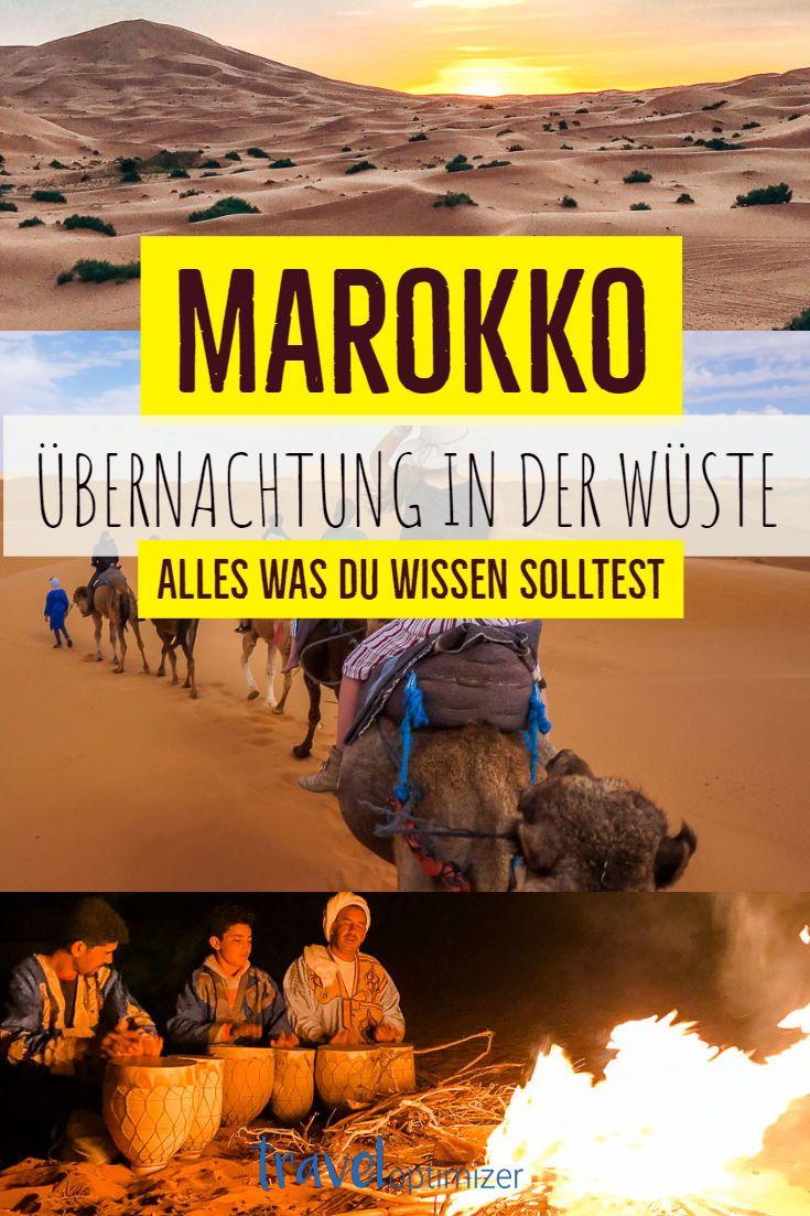 Wustenubernachtung In Marokko Marokko Marokko Urlaub Und Reisen