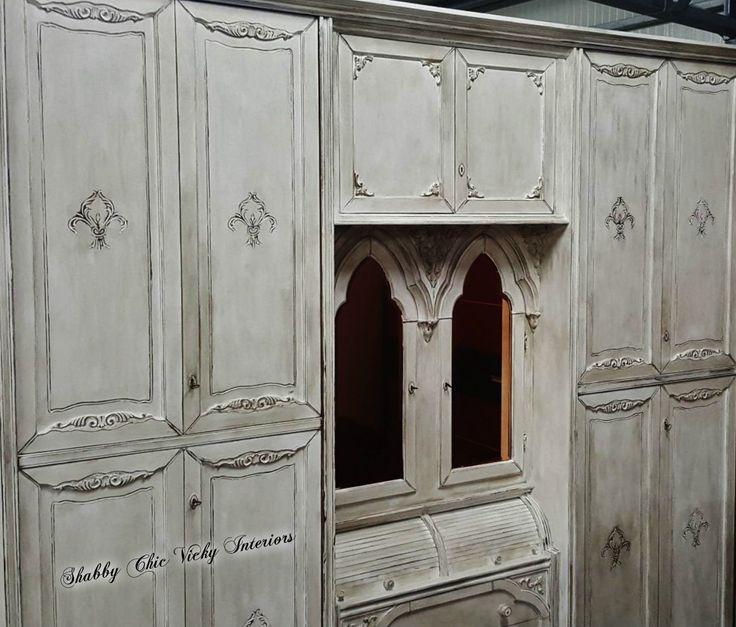 Restyling Grande Armadio Shabby Chic Vicky Interiors