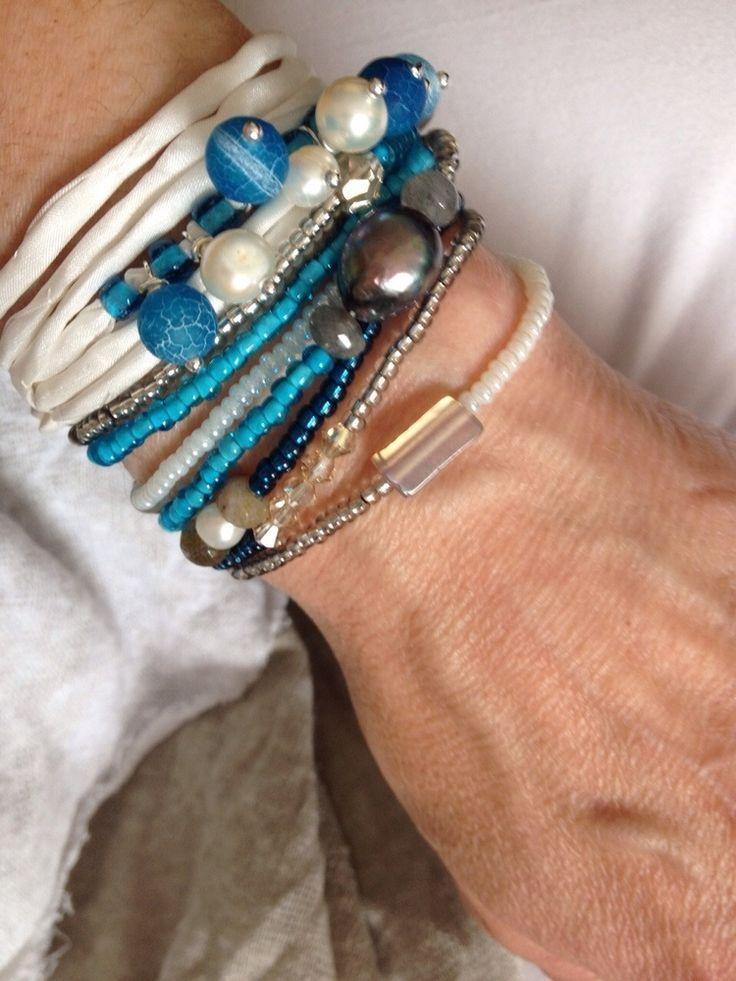 Image of 1001 Nacht Seiden Armband
