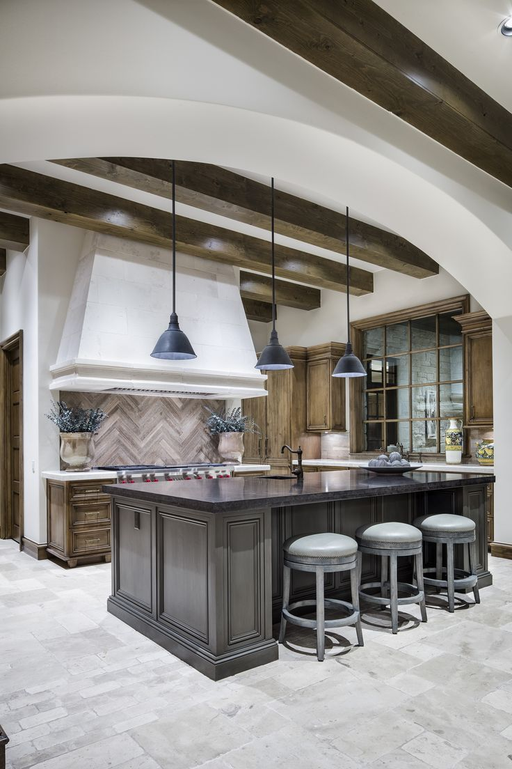 Luxurious French Country Modern Kitchen Design Build By