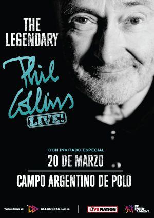 Phil Collins con Tarjeta Santander Río