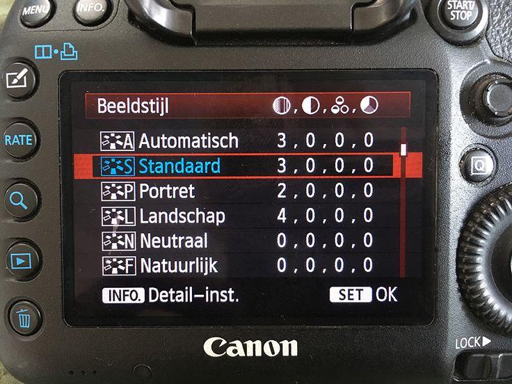 ~ Algemene camera instellingen voor beginners