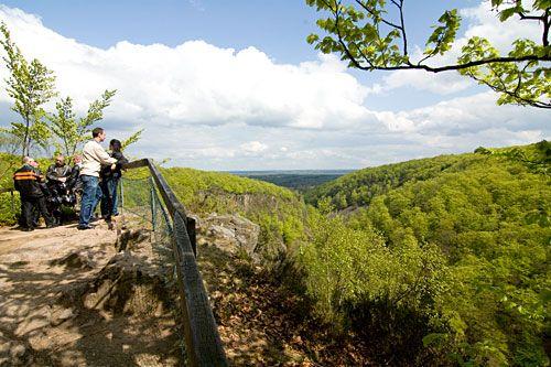Kopparhatten Skäralid. Söderåsens Nationalpark in Sweden