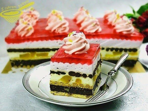 """z cukrem pudrem: ciasto """"Lolita"""" (bez pieczenia)"""