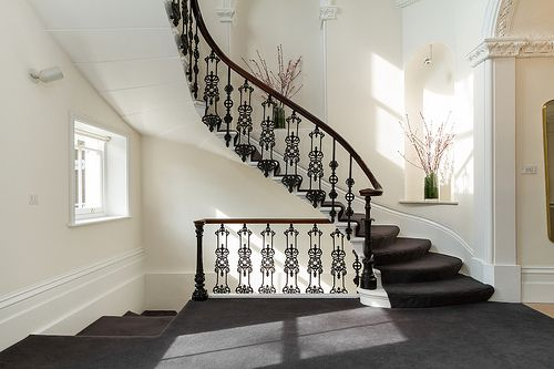 : Decor, Style, Iron Railings, Dream House, Architecture, Homes, Beautiful Stairs, Beautiful Staircases, Beautiful Staircase S