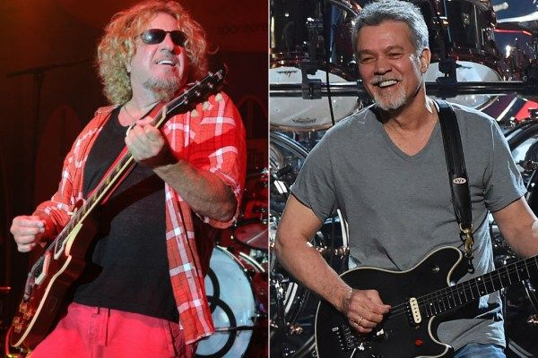 Sammy Hagar explained why he reached out to Eddie Van Halen on Twitter in February 2016.