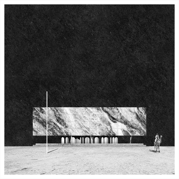 Miles Gertler, New Order, No. 03 Fluid Vault, 2015, digital collage on canvas, 39.5 x 39.5 in. (c) Courtesy Corkin Gallery