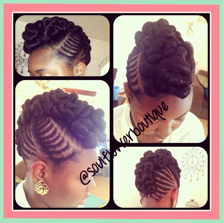 How To Style A Mohawk With Natural Hair