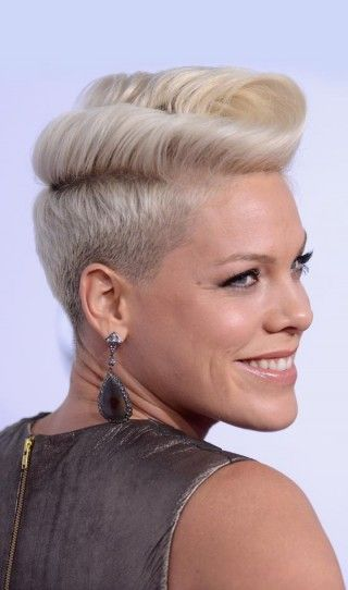 Short Punk Hairstyles - Pompadour