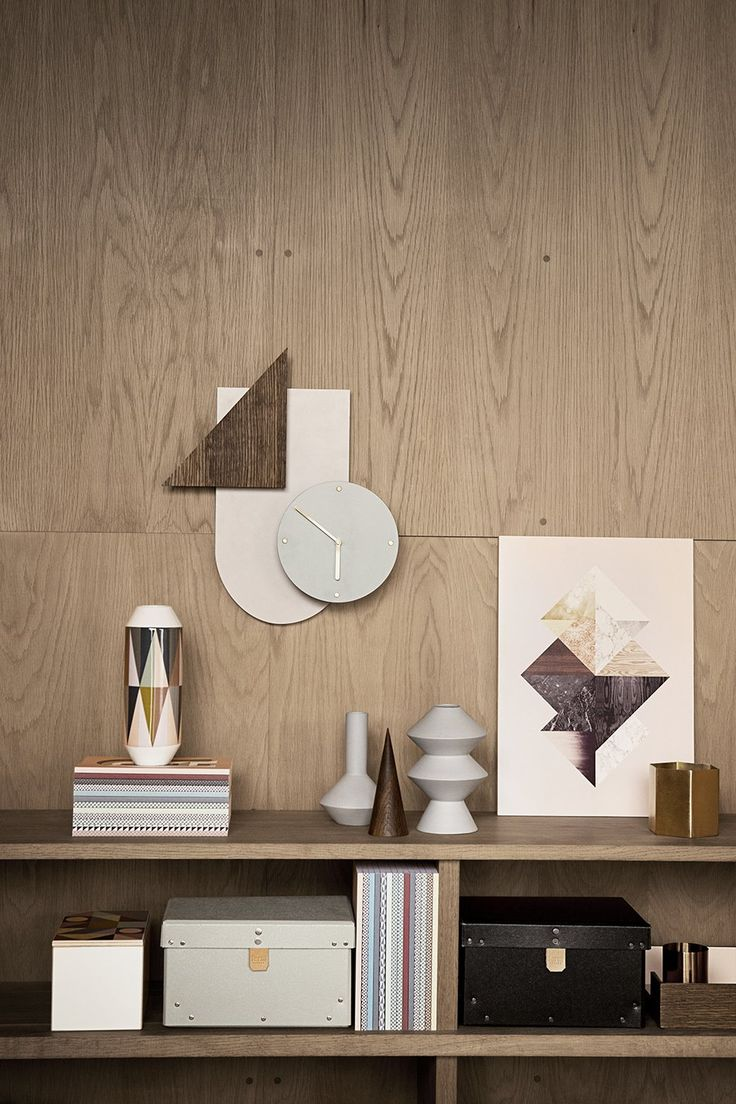 decorar paredes con madera -  Ferm living