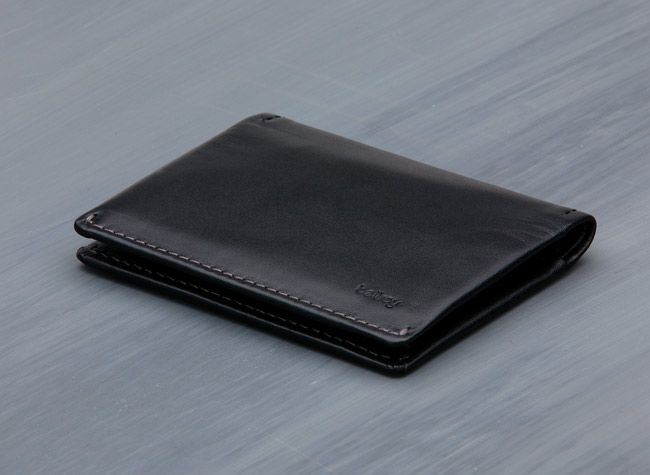 A beautiful balance of small with convenient, the Slim Sleeve Wallet is easy to underestimate. Your 2 daily cards go in quick draw, then a tab lets you get to your infrequent cards. Most currencies easily fit with a half fold, and it's all kept tidy in a reasonably grit tight package.