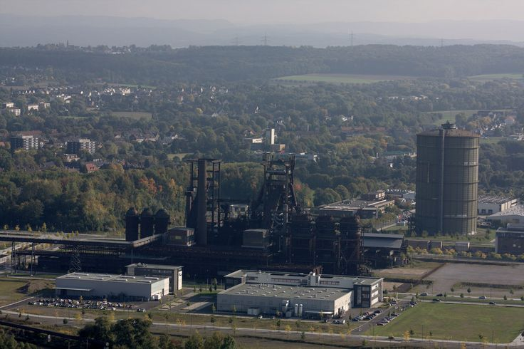 Autumnal Dortmund, view from Florianturm