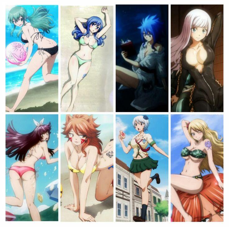 Fairy Tail Girls || Princess Hisui || Juvia Lockser || Levy Mcgarden || Mirajane Strauss || Kagura || Milliana || Yukino Aguria || Jenny