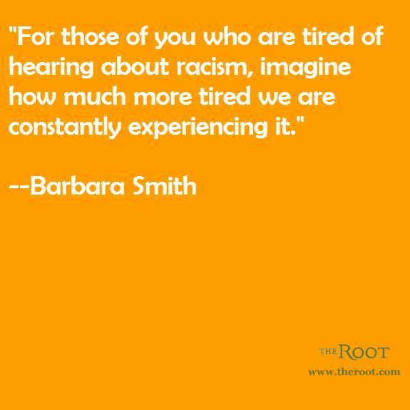 Best Black History Quotes: Barbara Smith on Racism