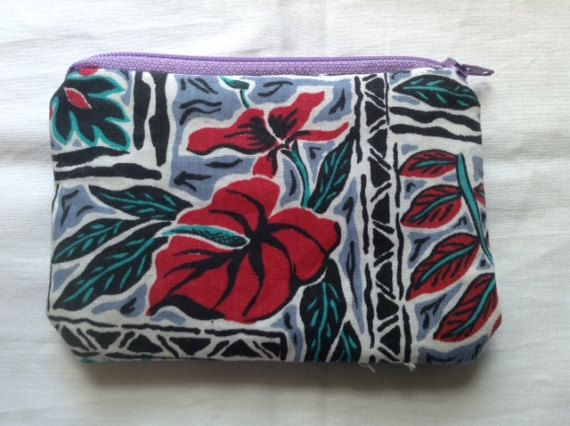 My Aunt Faith bought these pre-cut fabrics for me as a gift from Hawaii many years ago. I have held on to them, waiting for inspiration. Today, her grandson, Randy is trying to live life with Epilepsy. Please Help Epilepsy Research ... A donation of $2 will be made toward Epilepsy research when you purchase this coin purse. Dimensions: The fabrics are all a bit different in size but 3.5 x 5 is a good approximation. Some of the coin purses might be closer to 4 x 6. If you have questions/c...