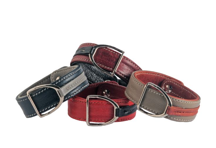 Leather bracelets with stirrups by PARADE PERFECT WEAR