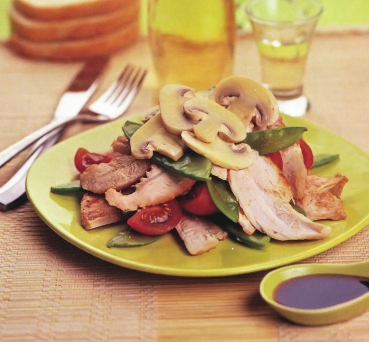 Салат из курицы маринованной в имбире - Powered by @ultimaterecipe