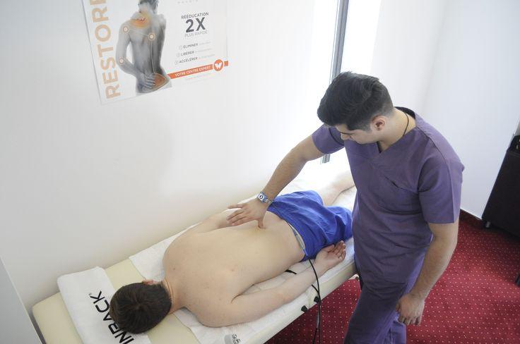 Terapia TECAR ce a revoluționat în ultimul timp recuperarea medicală este prezentă și la noi în clinică. TECAR este BIO-ACCELERATOR FIZIOLOGIC - accelerează vindecarea și diminuează durerile musculare și articulare. Este o energie neinvazivă de înaltă frecvență, care stimulează capacitatea naturală de regenerare a organismului. Pentru mai multe informații accesați link-ul: http://fiziohealth.ro/blog/terapia-tecar/