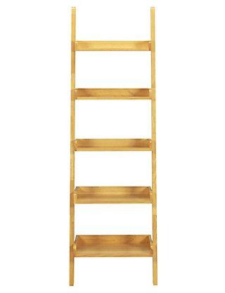 Step Ladder Shelving - Natural