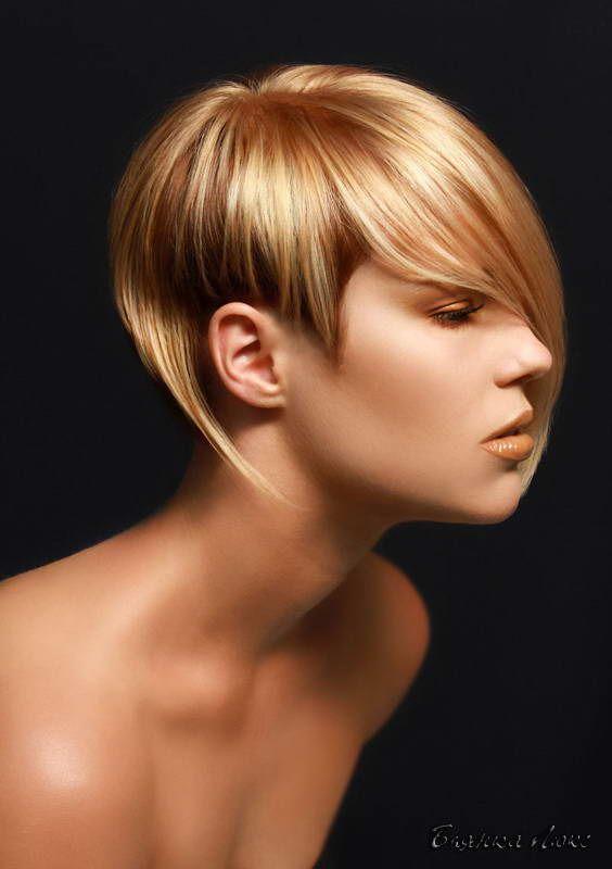 Стрижки и прически для тонких волос 129