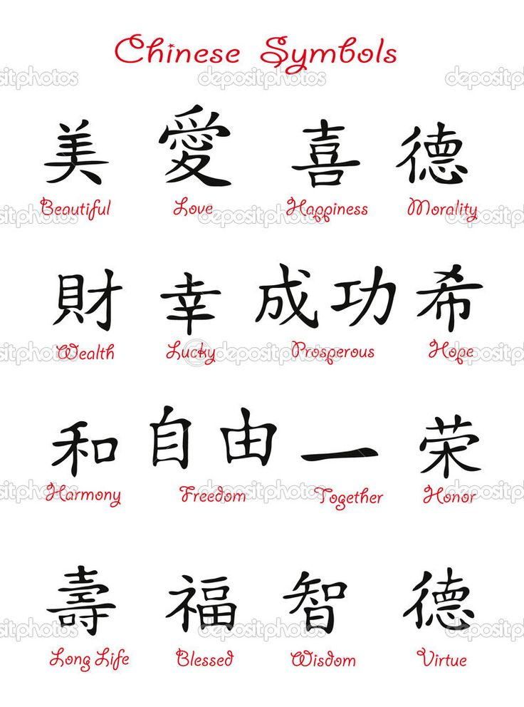 chinese symbols - Google Search