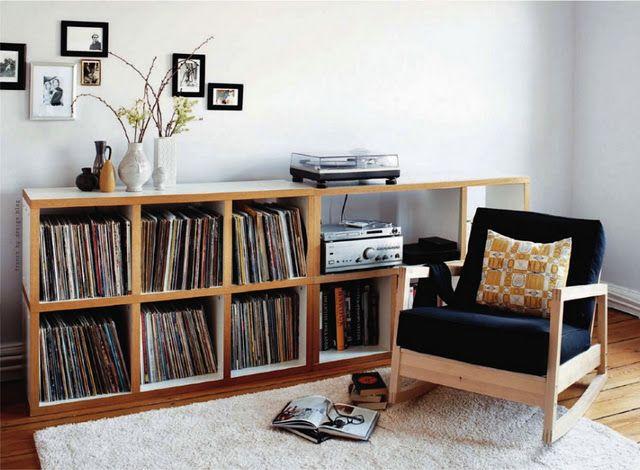 best 25 ikea vinyl storage ideas on pinterest ikea. Black Bedroom Furniture Sets. Home Design Ideas
