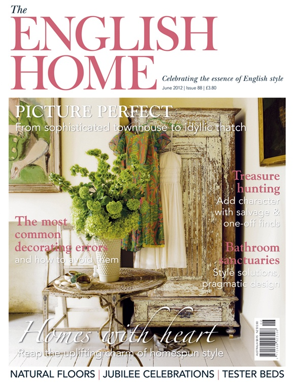 June 2012 issue of the english home magazine our for English house magazine