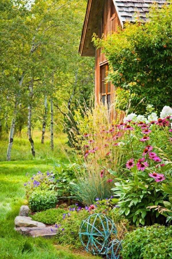 Garden design ideas – photos for Garden Decor – #Bacafleurspourl'ete #Havredepai…