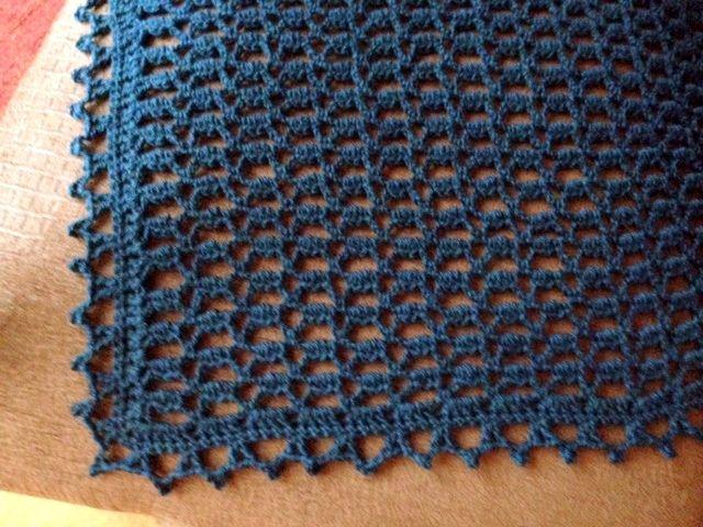easy crochet shawl patterns | Free Pattern-December Shawl